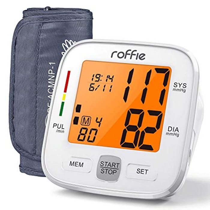 Upper Arm Blood Pressure Monitor W/ 3.4-Inch Backlight Display
