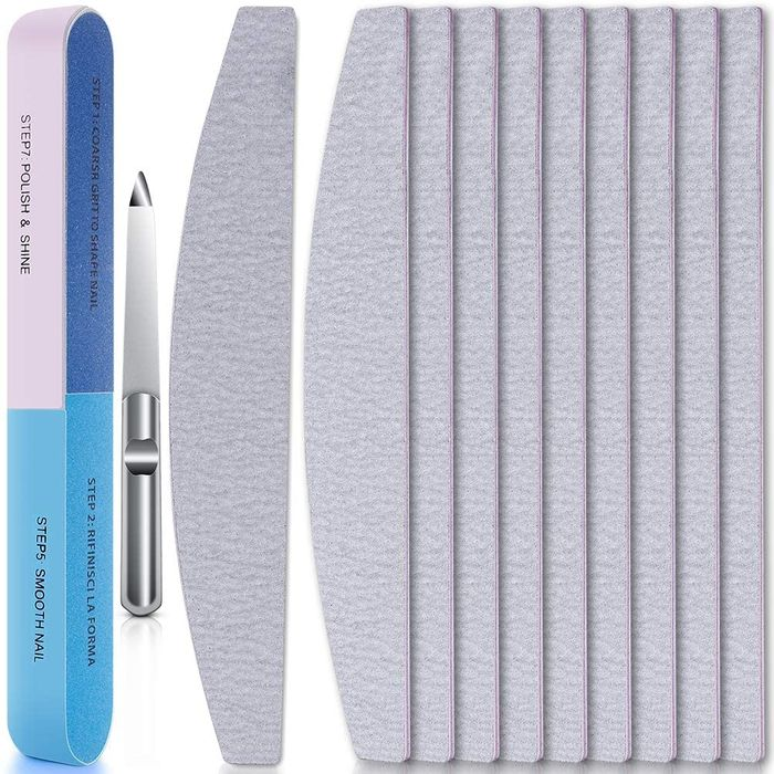 67% off 12 Pcs Double Sided Emery Boards