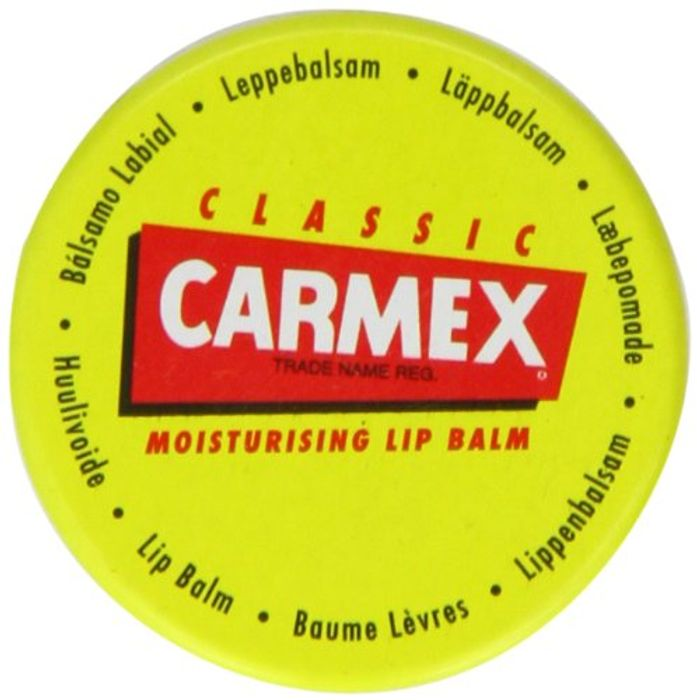 Carmex CLASSIC Moisturising Lip Balm for Dry and Chapped Lips