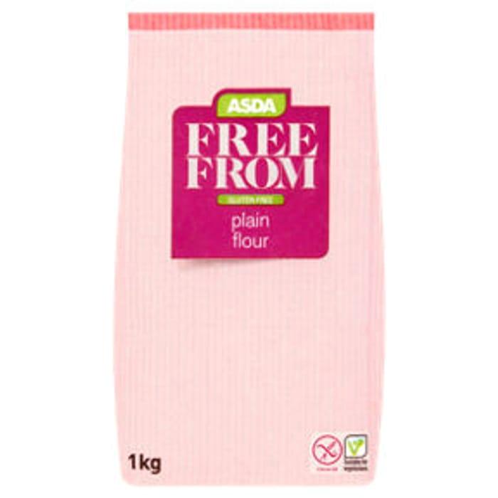 ASDA Free from Gluten Free Plain Flour 1kg