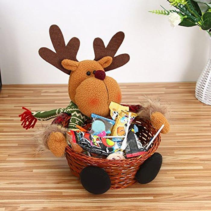 Christmas Reindeer Basket