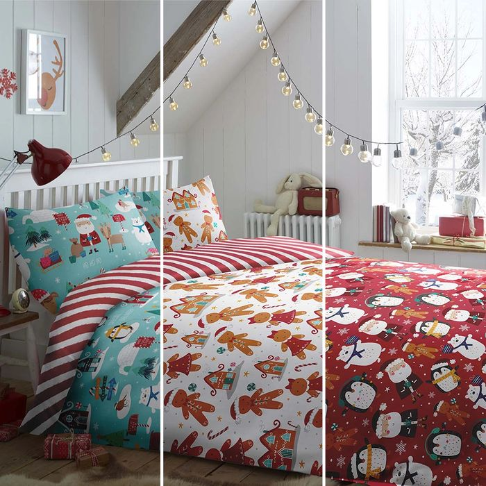 CHEAP! Christmas Characters Bedding Sets,double Only £10.99, Home Bargains