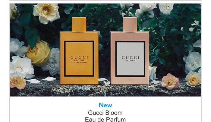 Free Gift When You Buy Selected Gucci Fragrance & Triple Points on Selected