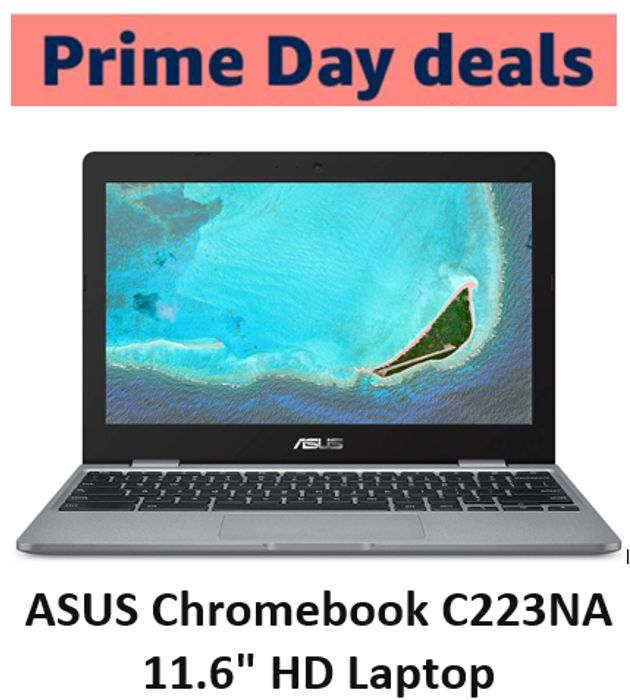 "SAVE £60 - ASUS Chromebook C223NA 11.6"" HD Laptop"
