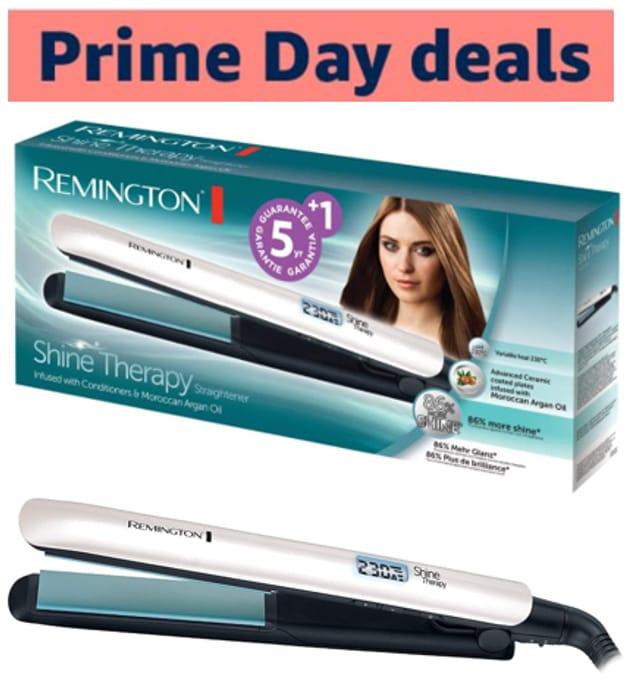 Remington Shine Therapy Advanced Ceramic Hair Straighteners S8500
