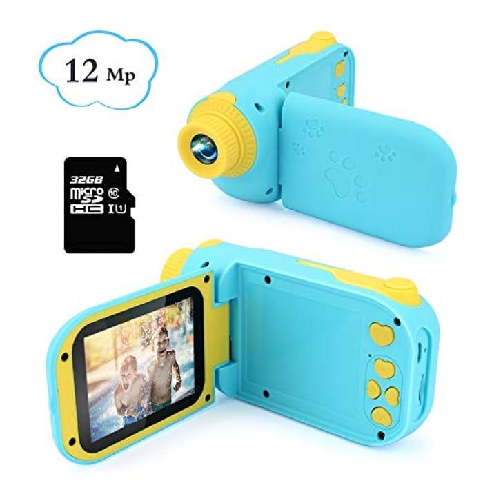 Bargain! Kids Digital Camera 12MP with 32GB SD Card