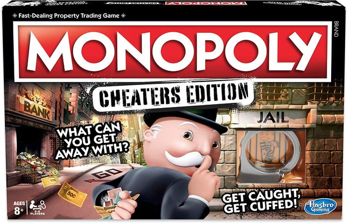 MONOPOLY Cheaters Edition - Age 8+