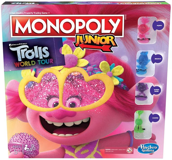 CHEAP! Monopoly Junior : Trolls World Tour Edition