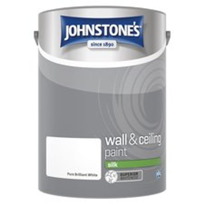 Johnstones White Silk 5L