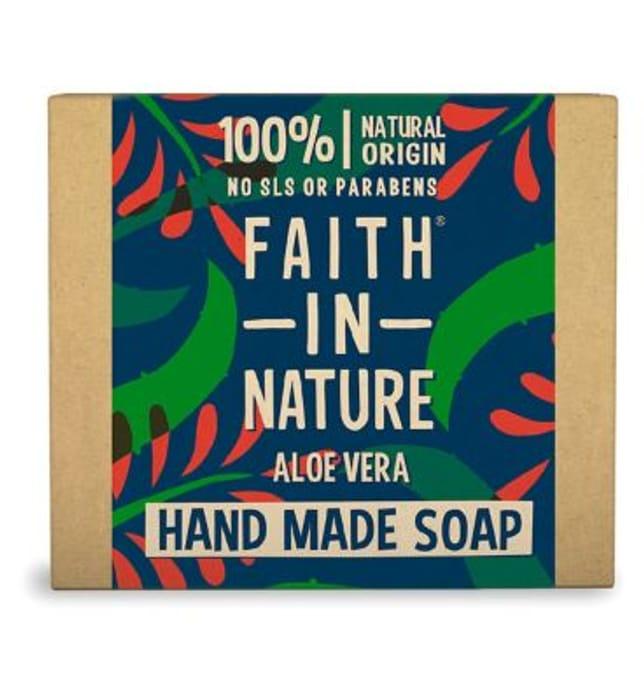 Faith in Nature Aloe Vera Hand Made Soap 100g