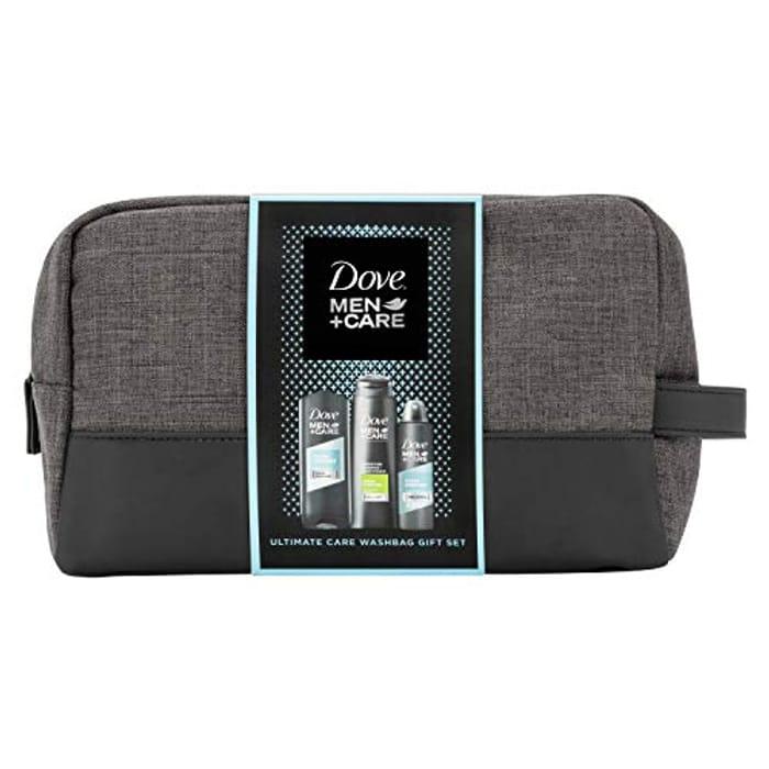 Dove Men + Care Wash Bag, Christmas Gift Set