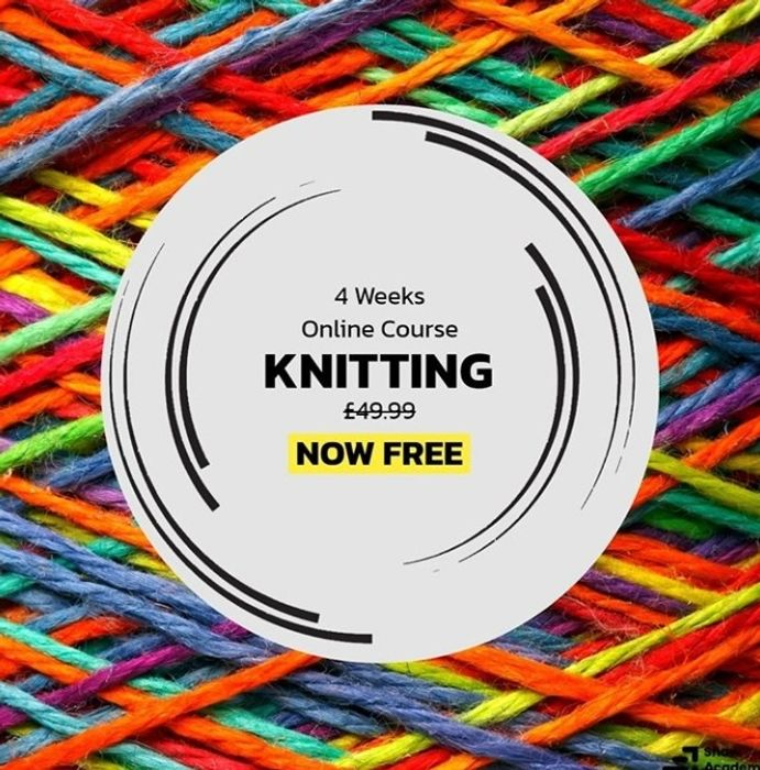 4 Week Online Knitting Course