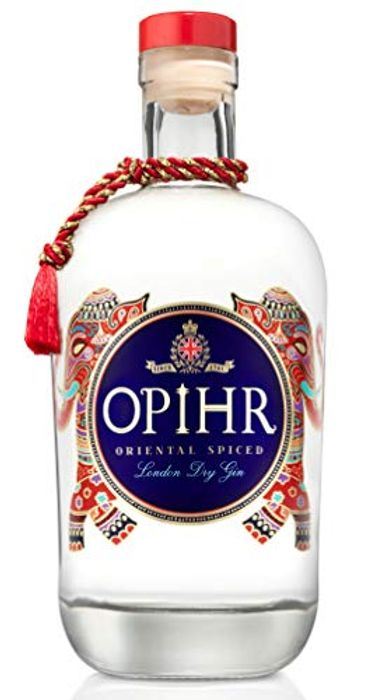 LOWEST Opihr Oriental Spiced London Dry Gin, with Hand Picked Botanicals, 70 Cl