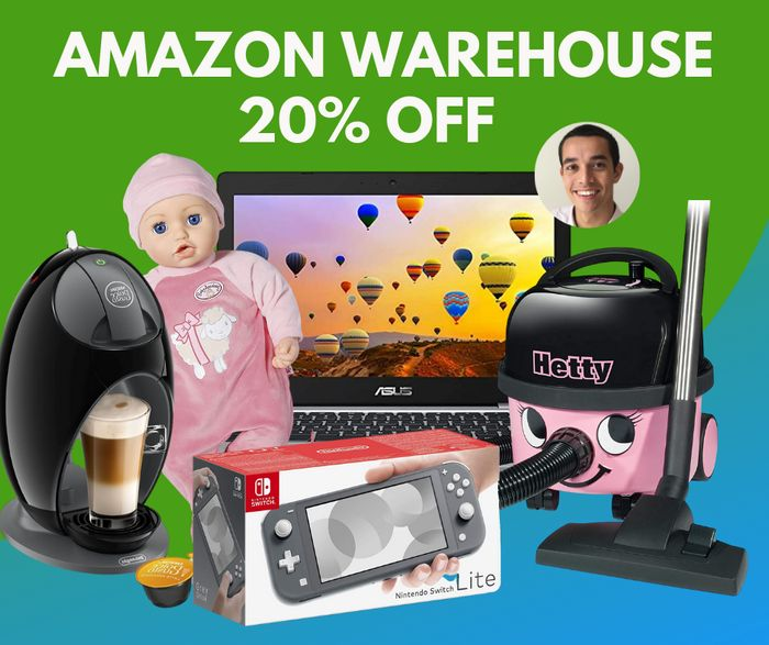 Prime Day - 20% Off Amazon Warehouse Open Box & Used Products