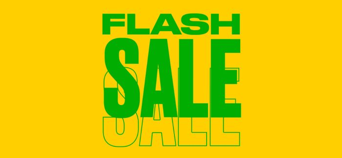 FLASH SALE is Now On! the Body Shop