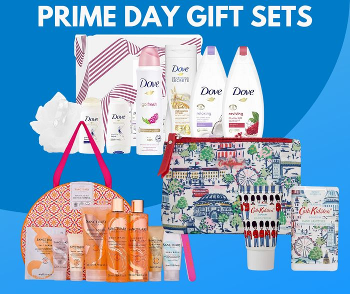 Up to 40% off Gift Sets - Prime Day