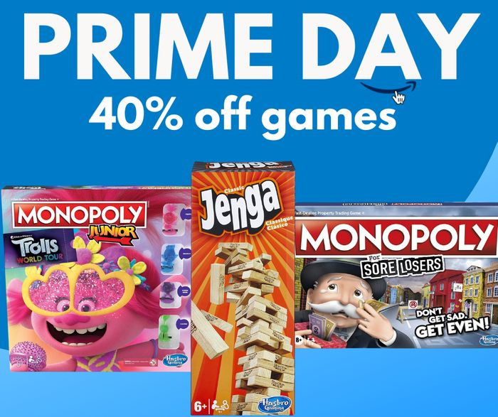 Up to 40% off Hasbro Gaming & Monopoly