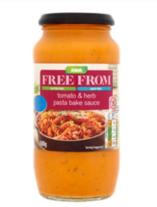 ASDA Free from Tomato & Herb Pasta Bake Sauce 500g