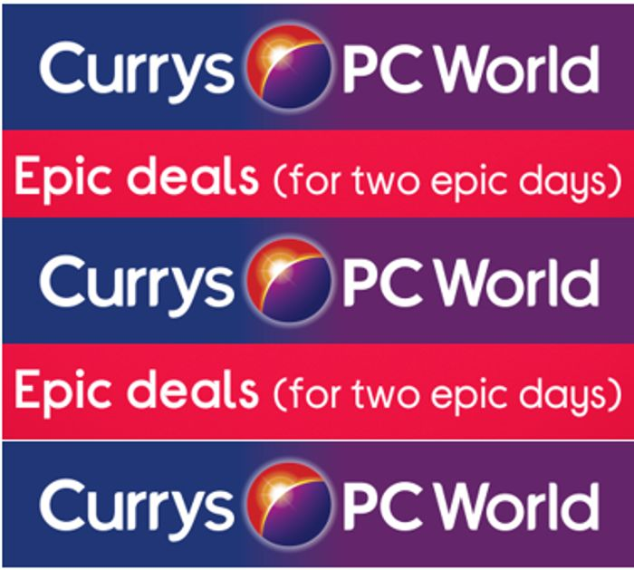 Currys Epic Deals - Competing With Prime Day - Ends Tonight!
