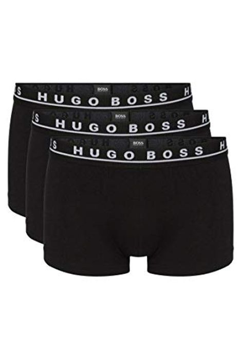 Prime Day Deal! BOSS Men's Trunk Co/El Boxer Shorts (Pack of 3) (Size L & XL)