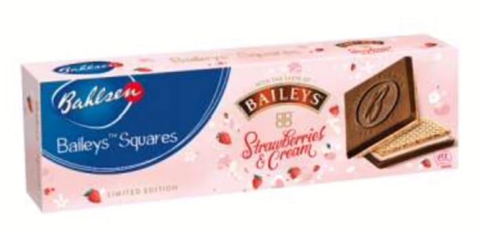 Free Bahlsen Bailey's Squares Strawb & Cream 125g at Waitrose via CheckoutSmart