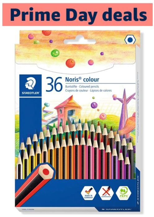 36 STAEDTLER Noris Colouring Pencils - BETTER THAN HALF PRICE