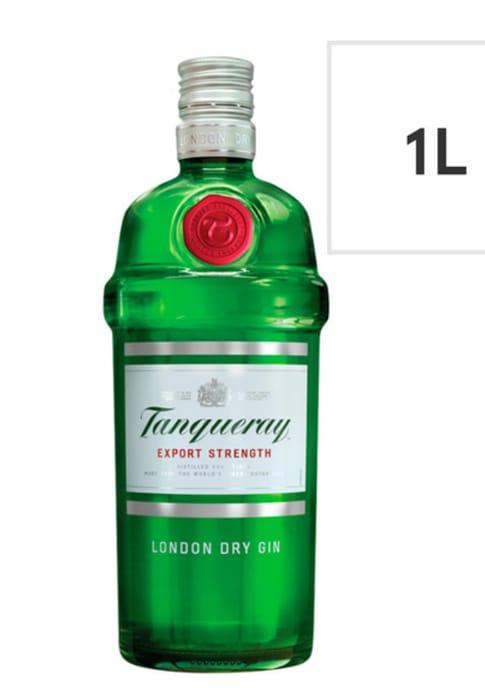 Tanqueray London Dry Gin 1L at ASDA