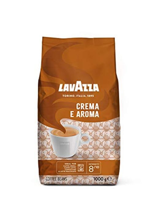 Lavazza Crema E Aroma, Arabica and Robusta Roast Coffee Beans, Pack of 1 Kg