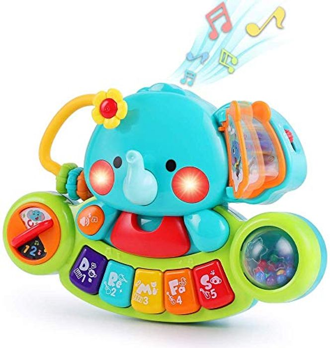 Baby Musical Elephant Toy