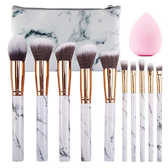 Make up Brushes 10 Pieces