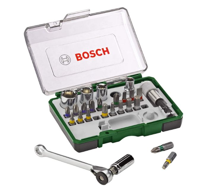 Prime Day Deal - Bosch Screwdriving Set with Mini Ratchet - Only £11.49!
