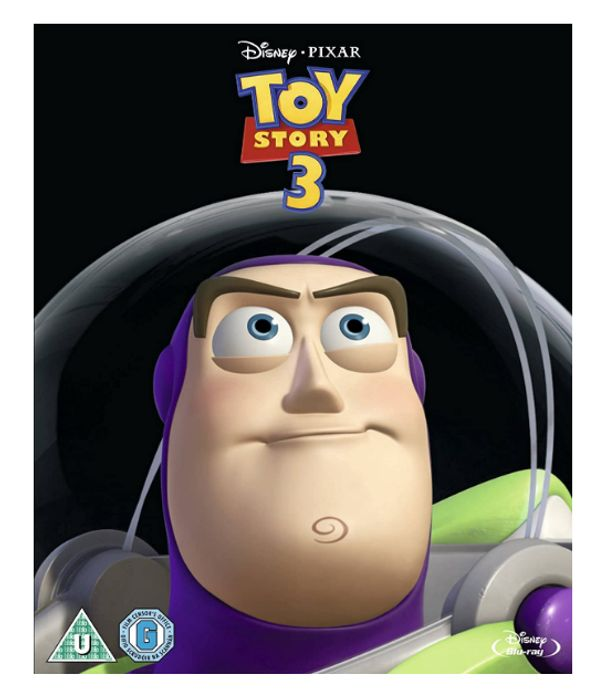 Toy Story 3 (2 Disc Blu-Ray) [2017] [Region Free] - Only £2.96!