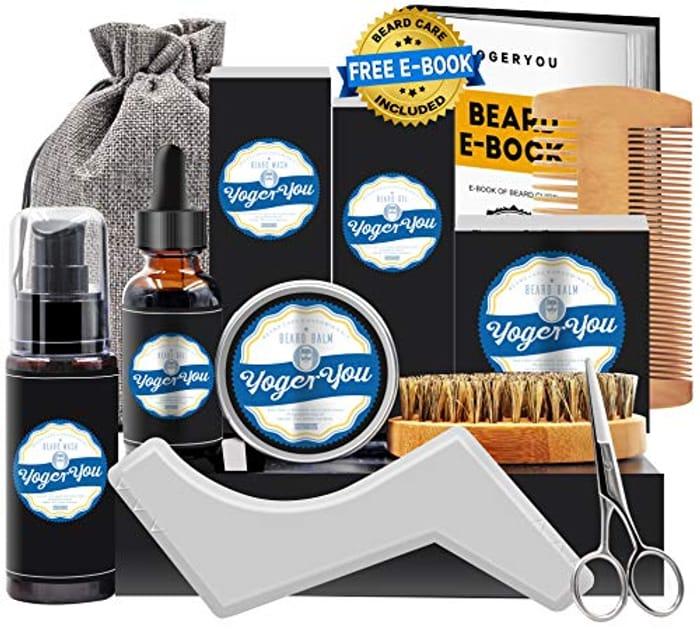 DEAL STACK - Upgraded Beard Grooming Kit