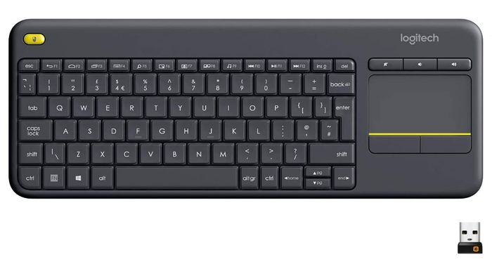 Prime Day Deal - Logitech Wireless Keyboard with Touchpad - Only £17.99!