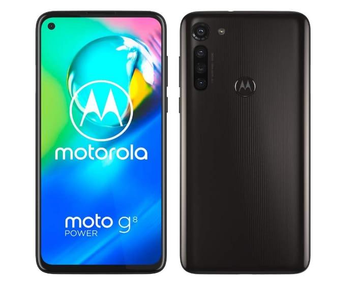 Prime Day Deal - Motorola Moto G8 Power Android 10, Smoke Black - Only £169!