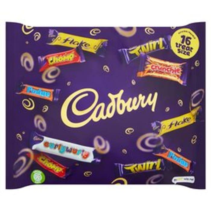 Cadbury Family Heroes Treat Size 222g (16 bars)