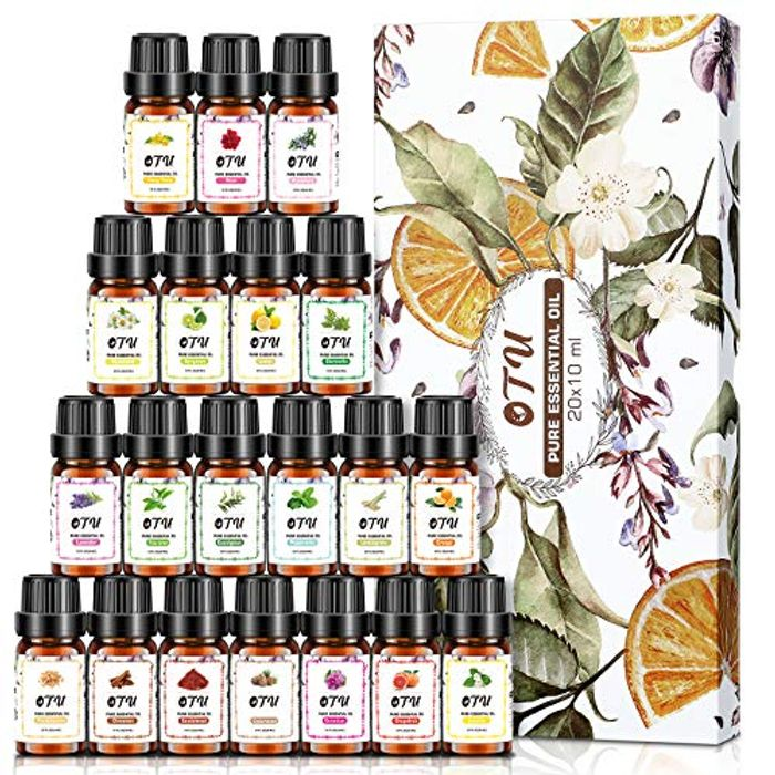 Deal Stack - 20 X Essential Oils - Get 51% off + Extra 10%