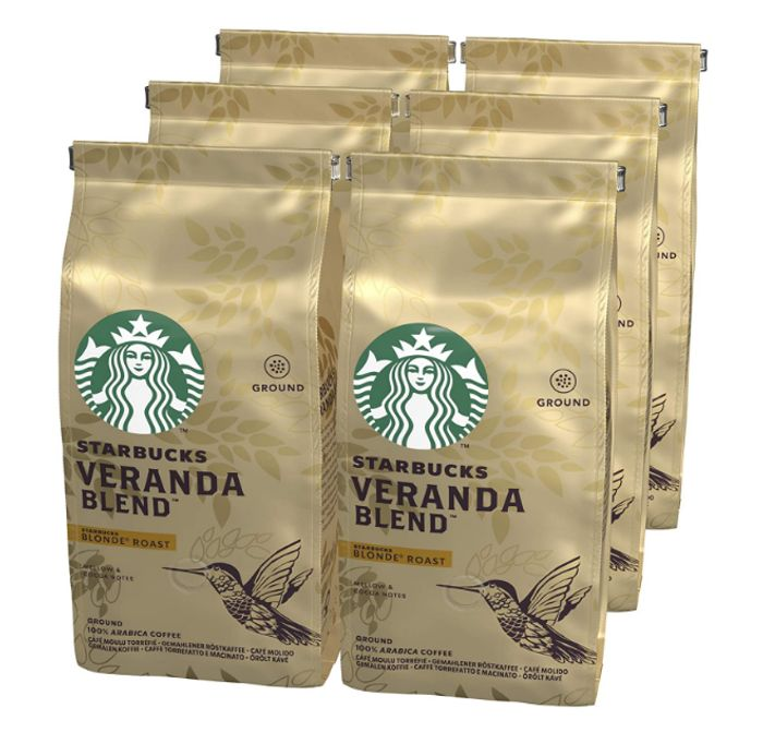 Prime Day Deal - Starbucks Veranda Blend Roast Ground Coffee - Only £13.39!