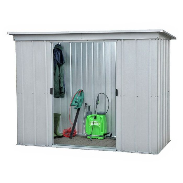 CHEAP! Yardmaster Metal Garden Shed - 6 X 4ft