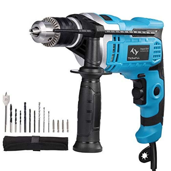 850W Hammer Drill for Brick, Wood, Steel, Concrete, Masonry (Prime Exclusive)