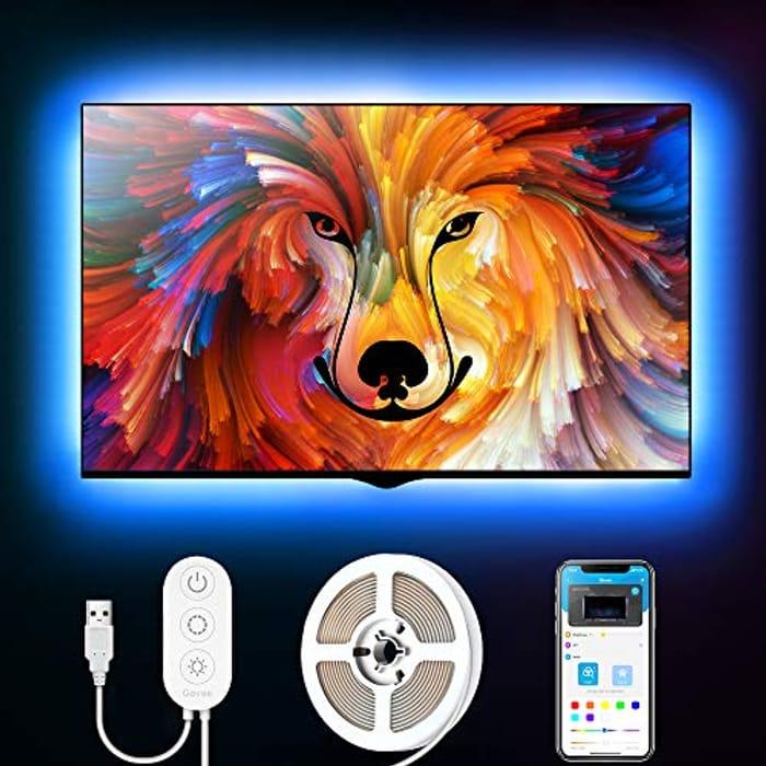 """2M LED Backlight Strip Lights for TV 40-55"""" (Prime Exclusive)"""