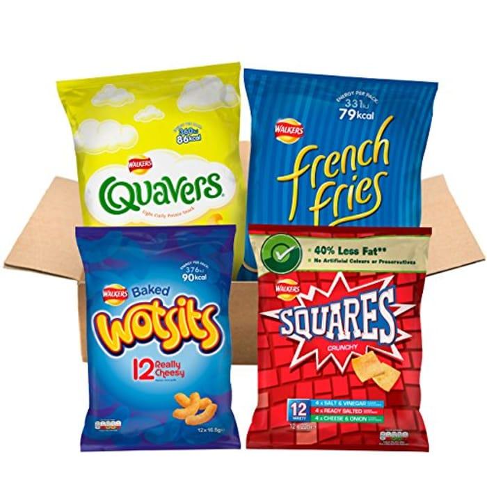 DEAL STACK - Walkers under 100 Calories Multipacks Snacks - Only £7.49!