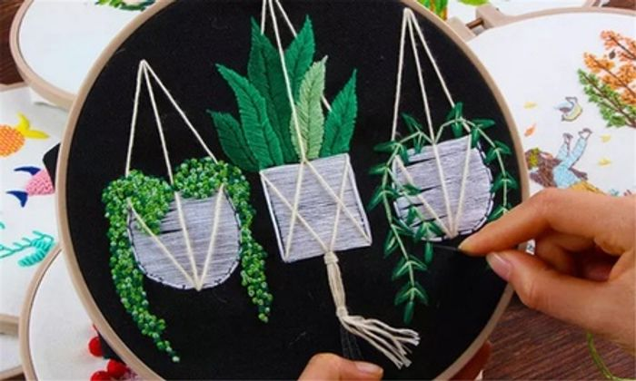 DIY Cross Stitch Embroidery Starter Kit
