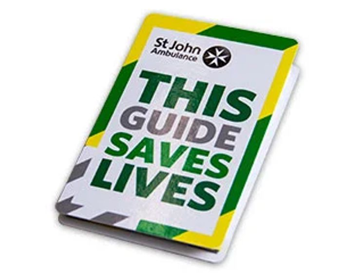 Free SJA Pocket First Aid Guide