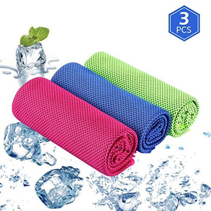 3 Pack Microfibre Sports Cooling Towel - BE QUICK !!!