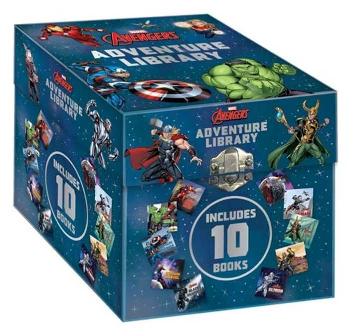 Cheap Marvel Avengers: Adventure Library at Amazon