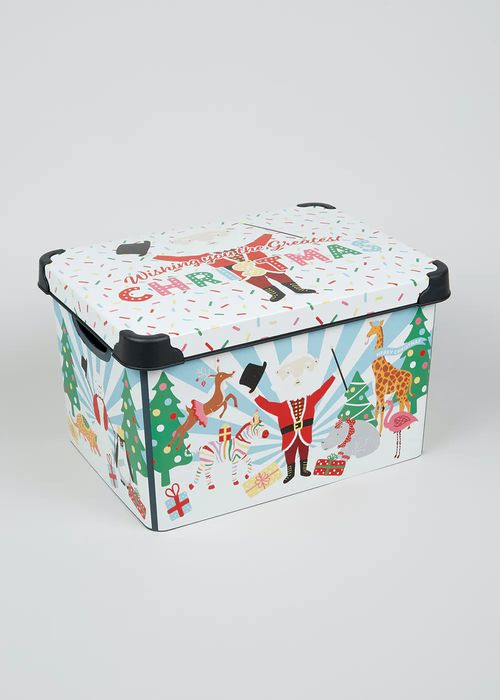 Plastic Christmas Gift Boxes £6 Each or 3 for 2