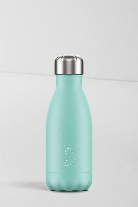 Chillys Mint 260ml Stainless Steel Water Bottle