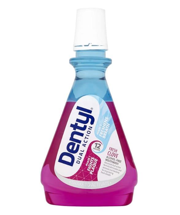 Dentyl Dual Action Fresh Clove Mouthwash, 500 Ml - Only £1.65!