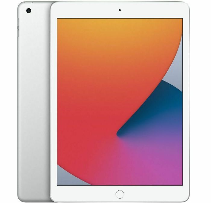 "APPLE 10.2"" iPad (2020) 32GB Silver - Currys - Only £302.68!"